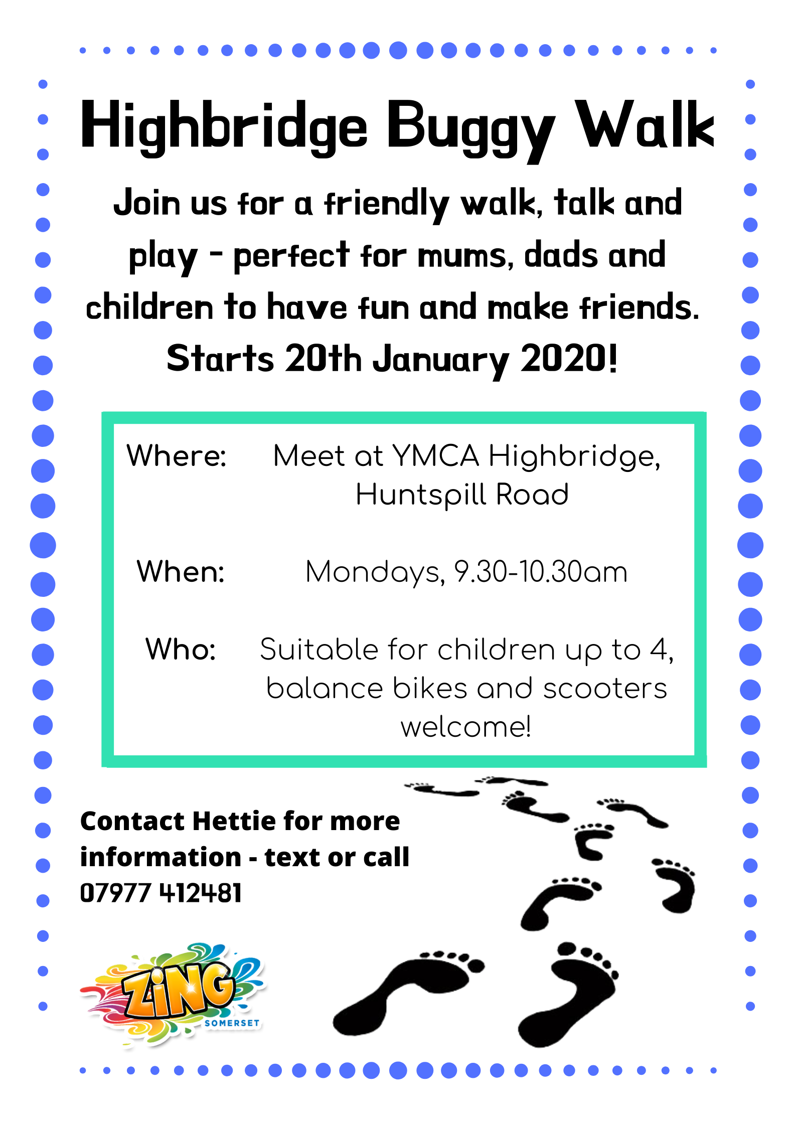 A new Buggy walk group
