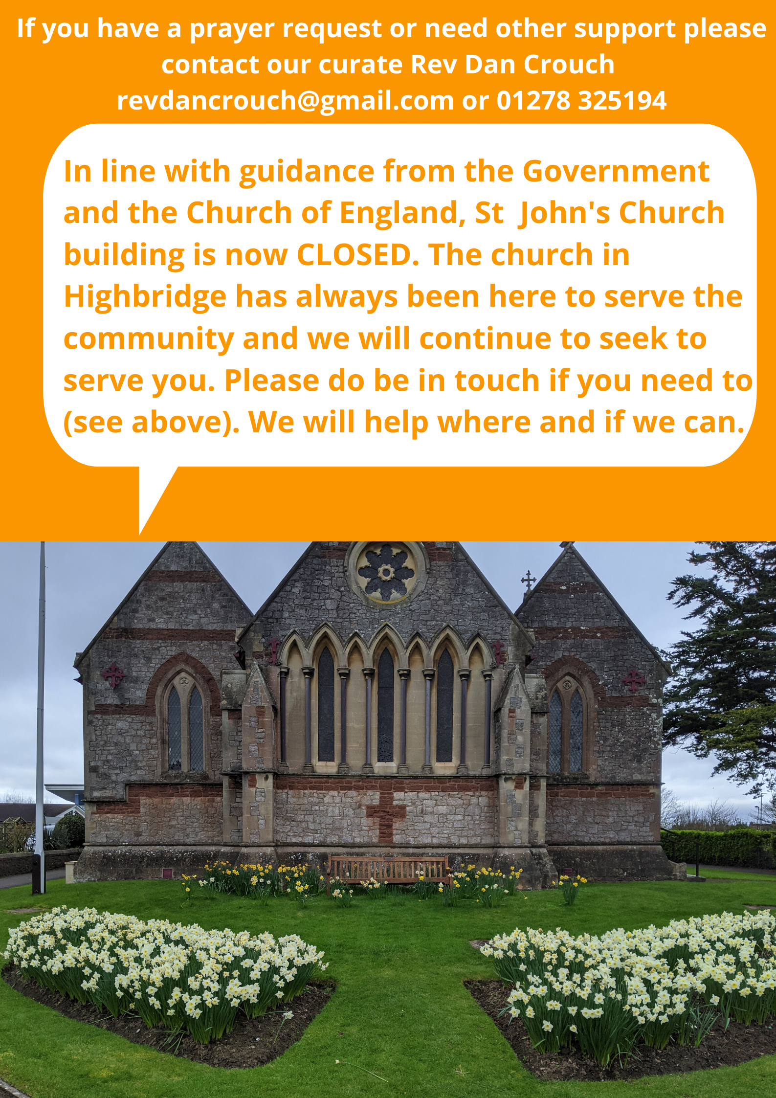 An open note to the community of Highbridge